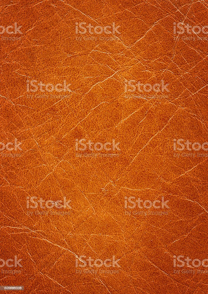 Tan Leather Background stock photo