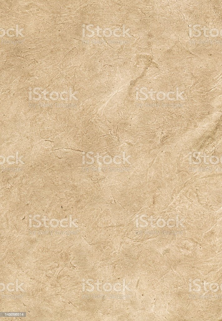 Tan parchment texture background royalty-free stock photo