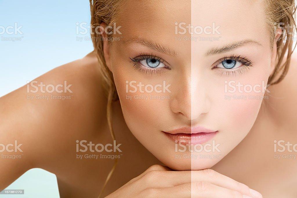 Tan stock photo