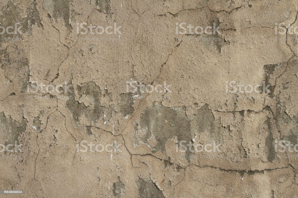 Tan Stucco Wall Grunge Texture Background stock photo