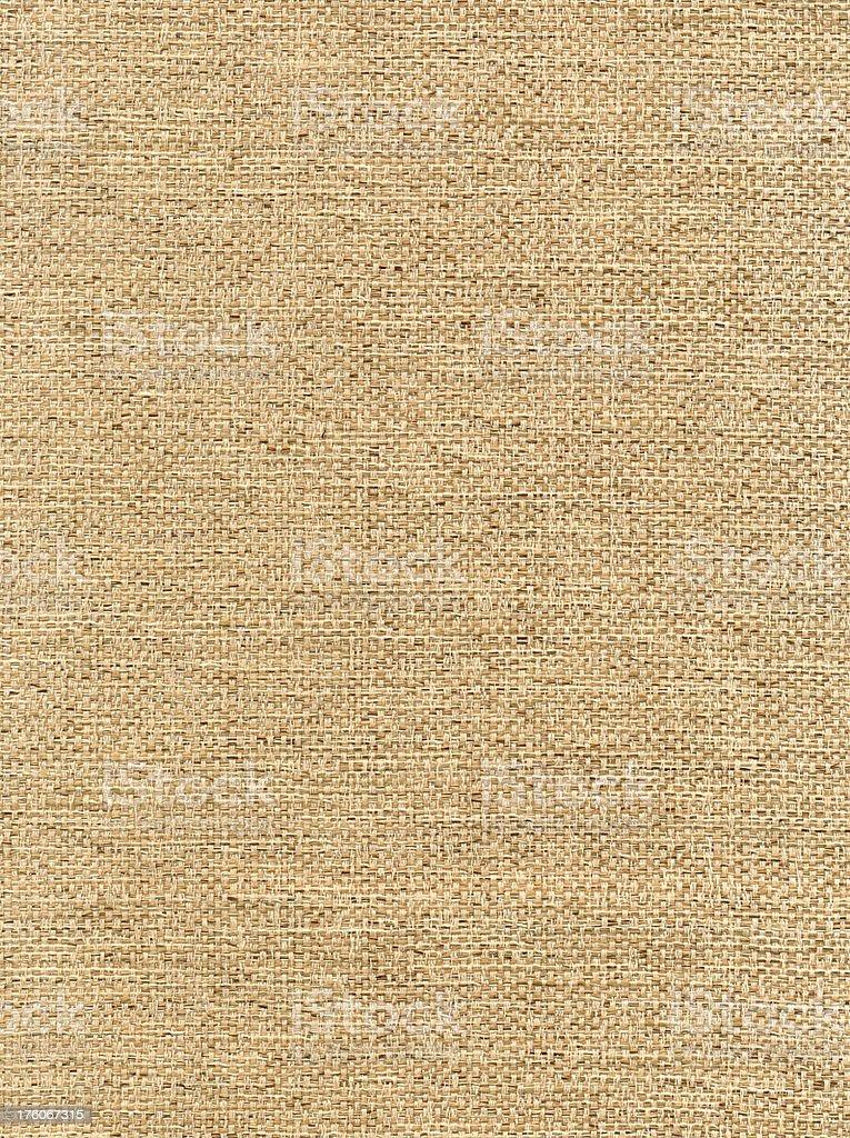 Tan Tweed Fabric royalty-free stock photo