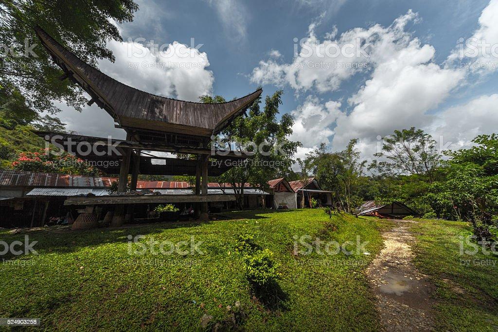 Tana Toraja stock photo