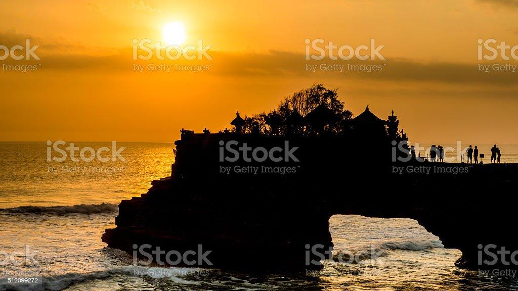 Tanah Lot - Bali, Indonesia stock photo