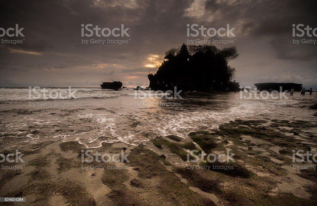 Tanah Lot, Bali, Indonesia stock photo