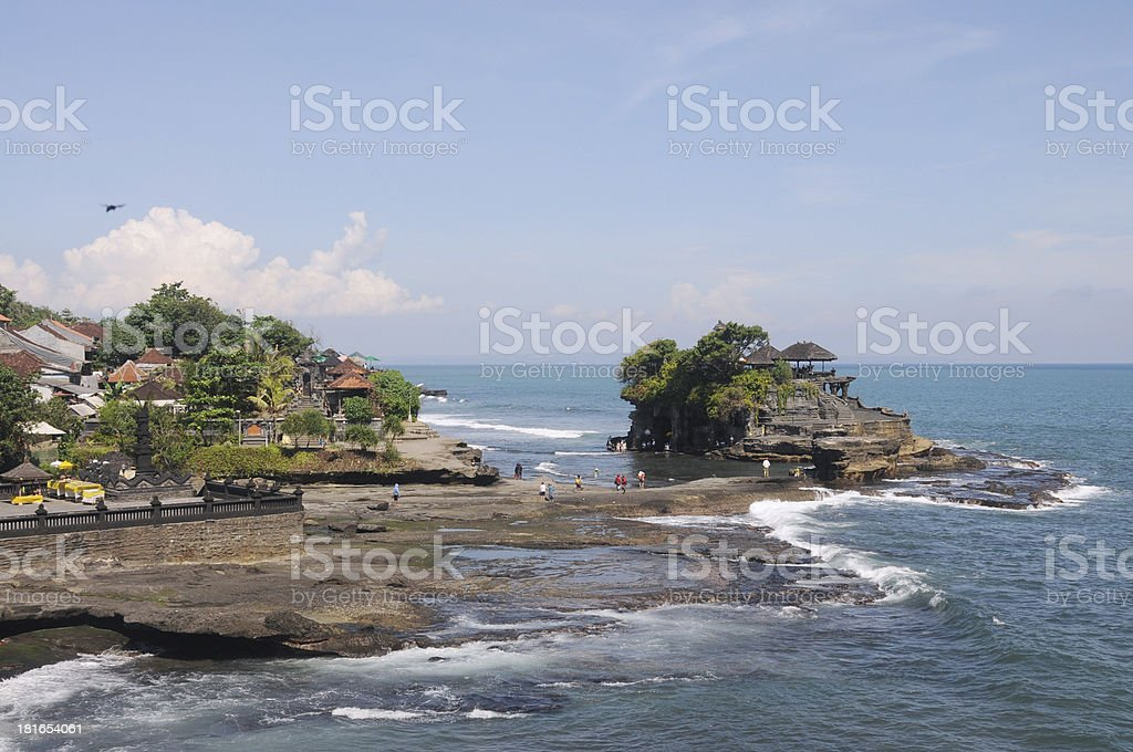 Tanah Lot, Bali. royalty-free stock photo