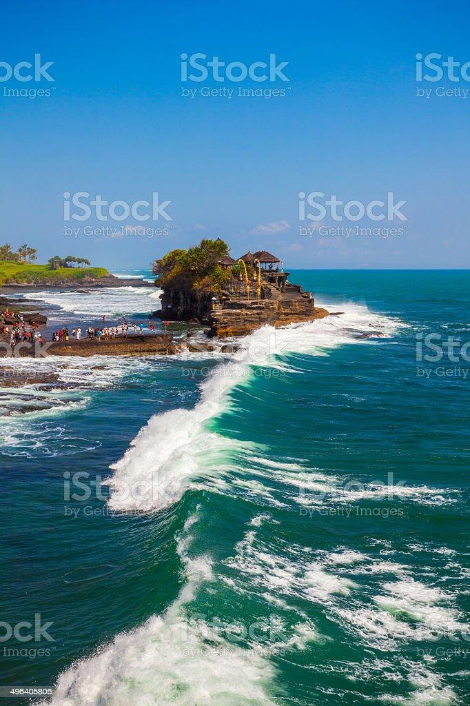 Tanah Lot, Bali stock photo