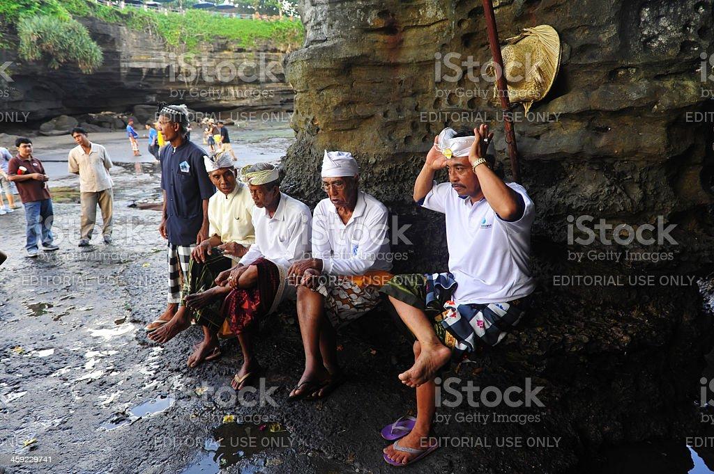 Tanah Lot royalty-free stock photo