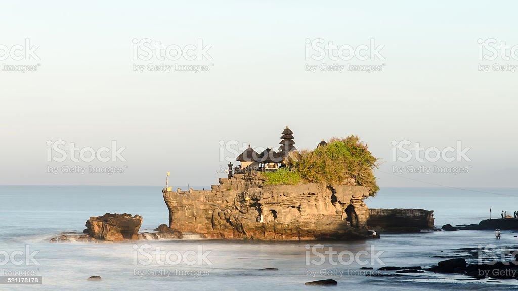 Tanah Lot temple, Bali, Indonesia stock photo