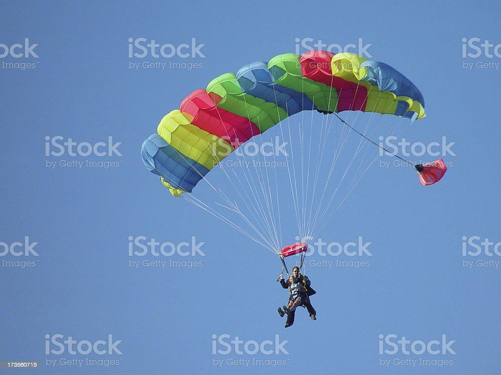 Tandem Jump #2 royalty-free stock photo