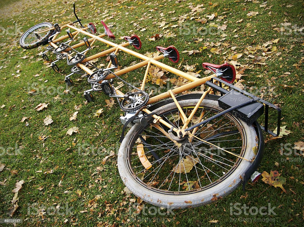 Tandem stock photo