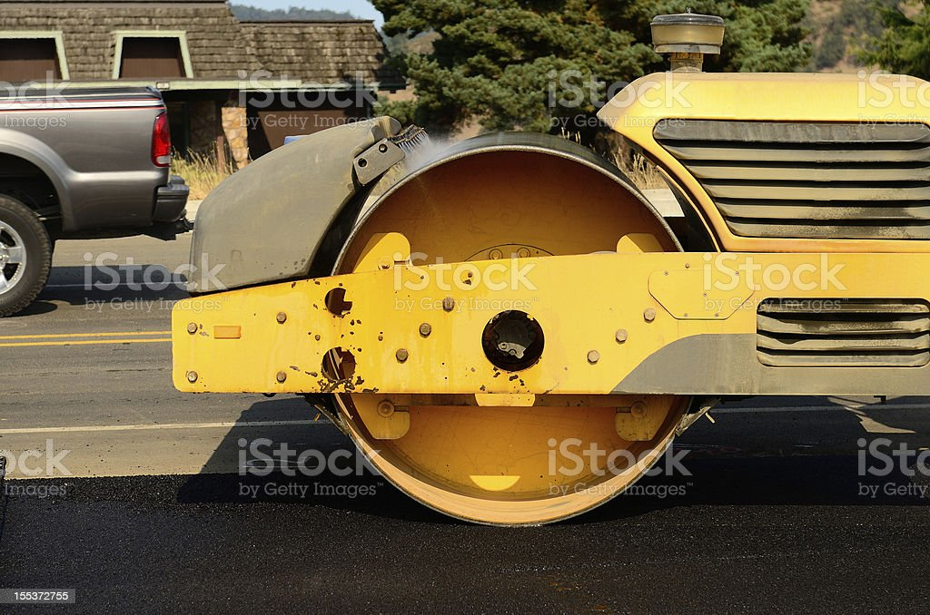 Tandem Roller royalty-free stock photo