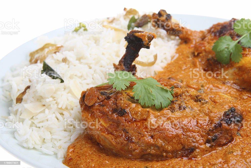 Tandoori Chicken Masala Curry royalty-free stock photo