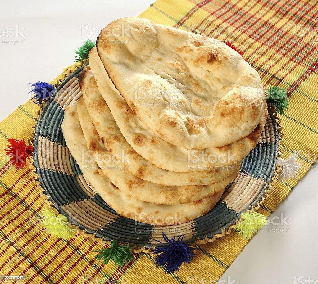 Tandoori Nan stock photo
