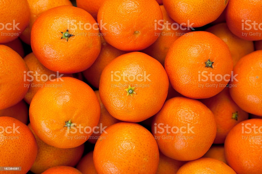 Tangerine background stock photo