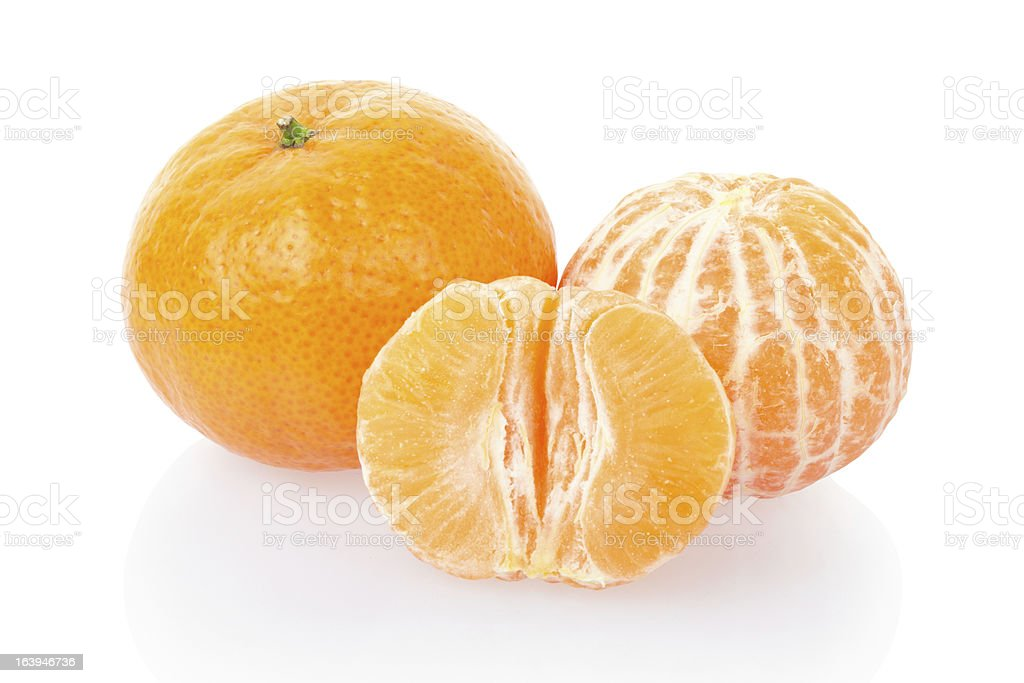 Tangerine, citrus fruit royalty-free stock photo