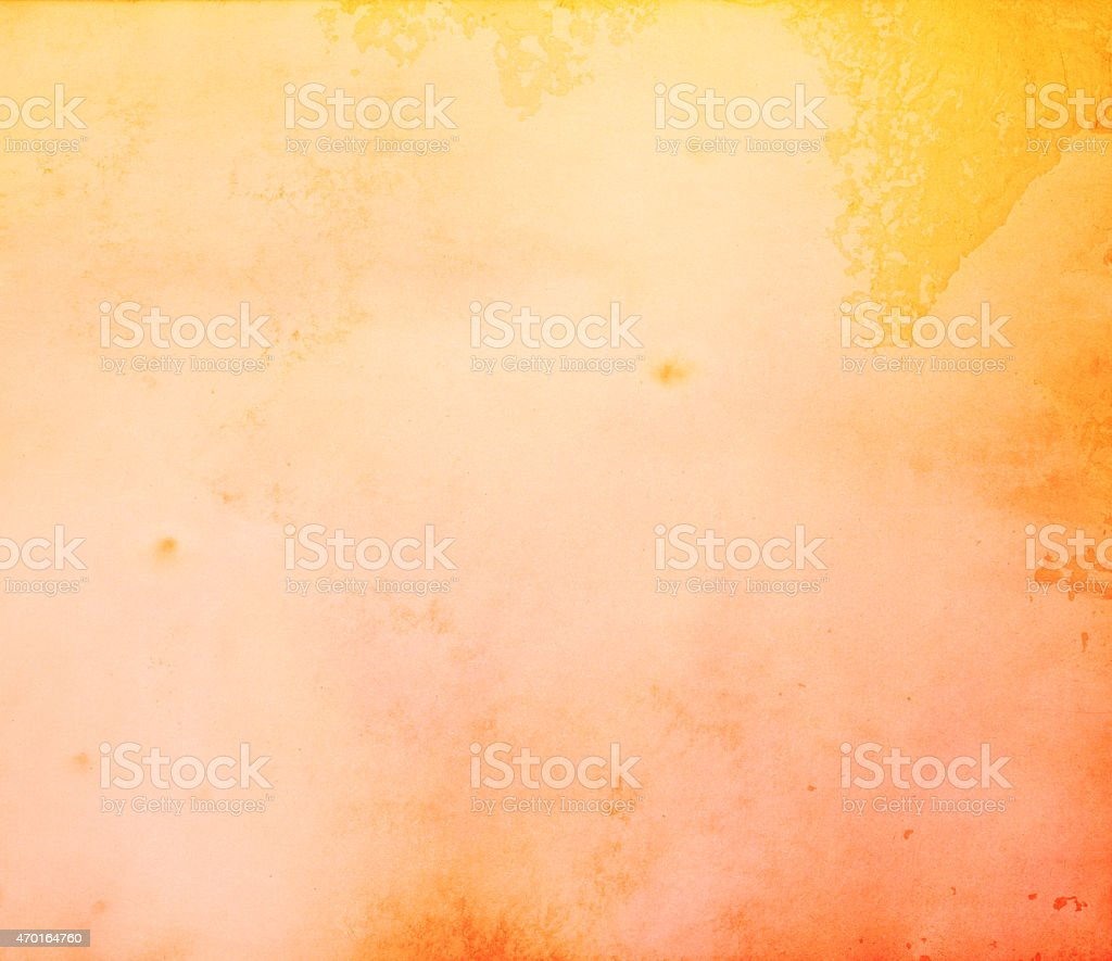 Tangerine Color Soft Grunge Background Vintage Grain Dust Texture Surface stock photo