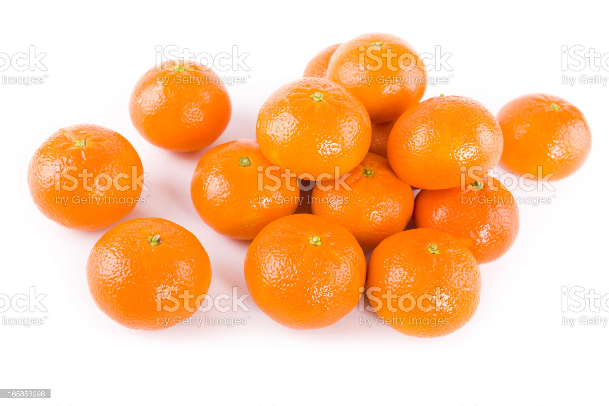 tangerine fruits royalty-free stock photo