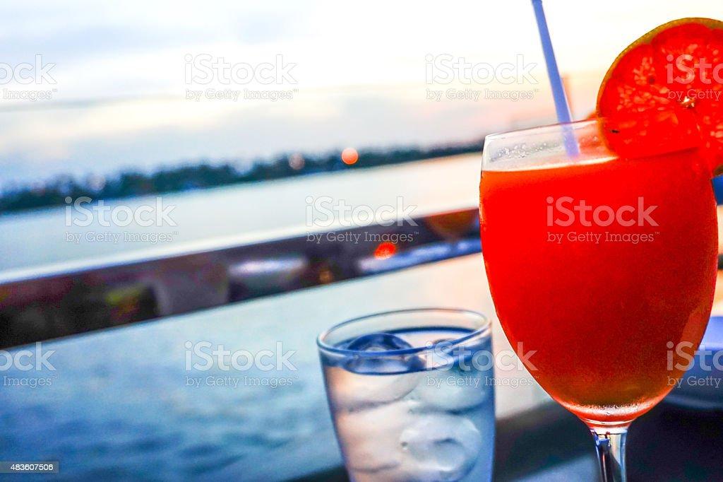 Tangerine juice orange royalty-free stock photo