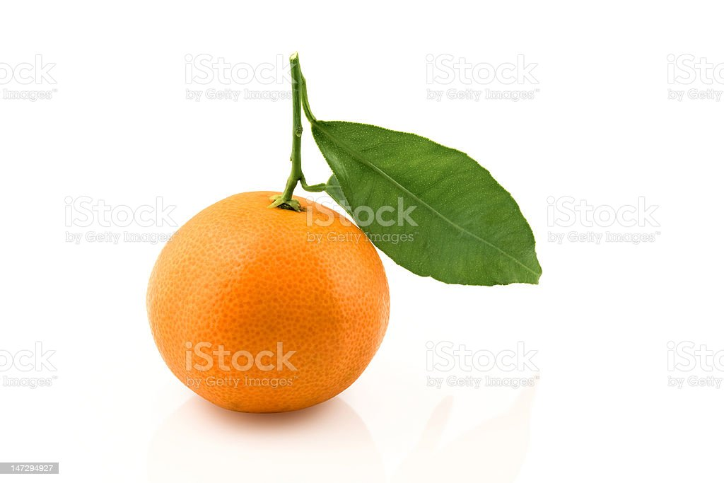 tangerine royalty-free stock photo
