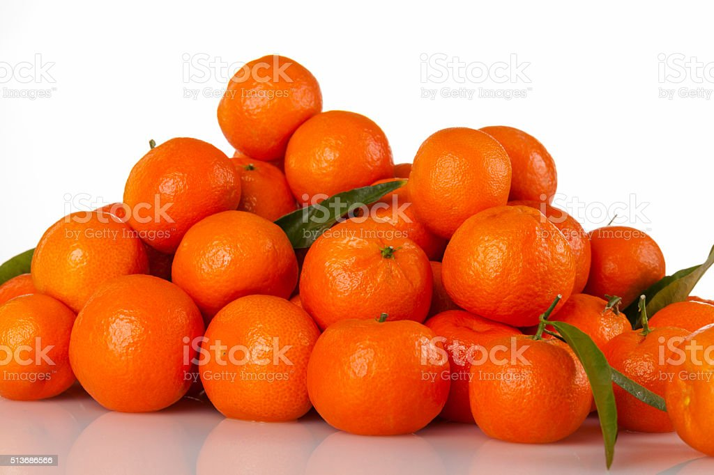Tangerines Close Up stock photo