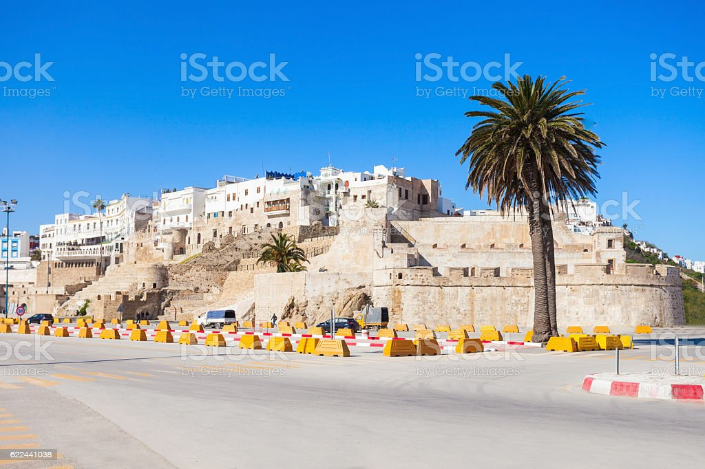 Tangier in Morocco stock photo
