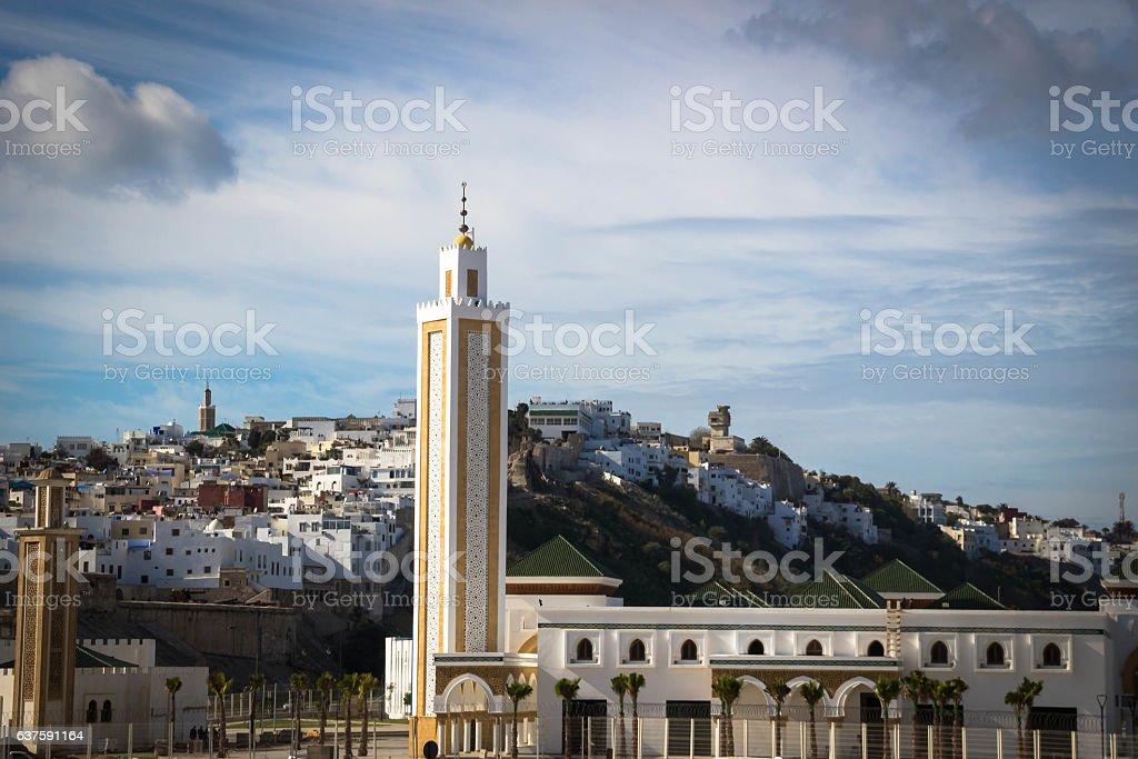 Tangier medina in Morocco stock photo