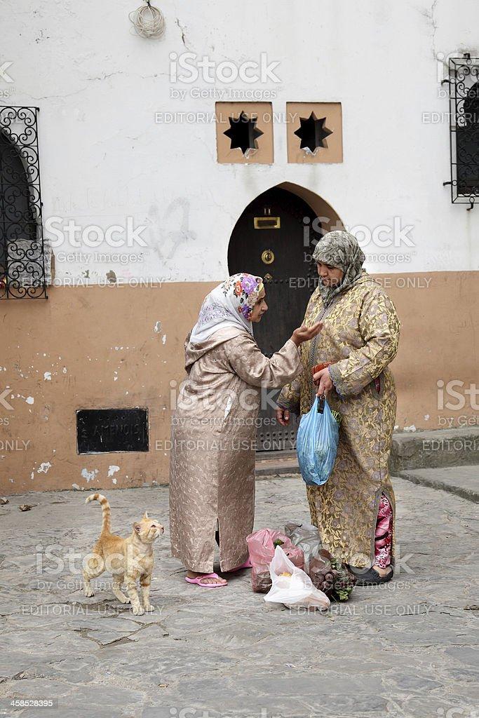Tangier stock photo