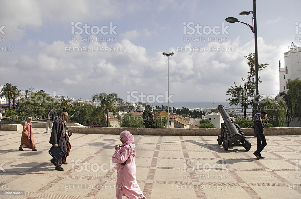 Tangier royalty-free stock photo
