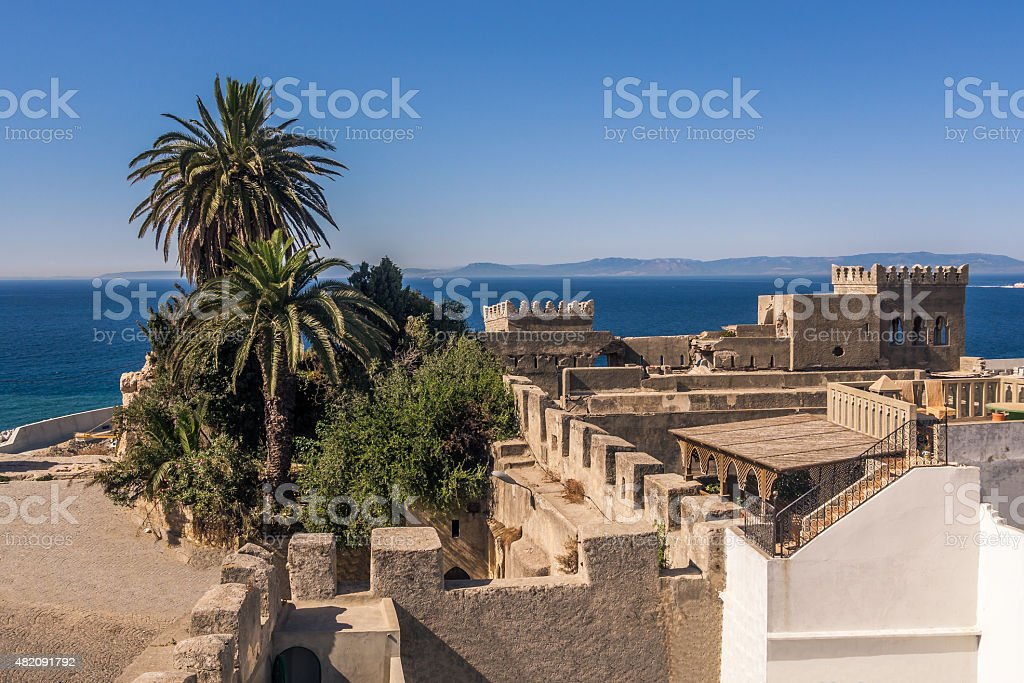 Tangier's medina stock photo