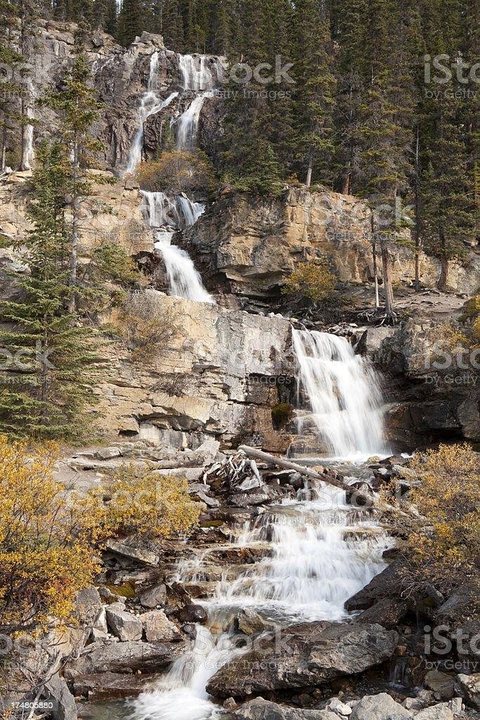 Tangle Falls stock photo