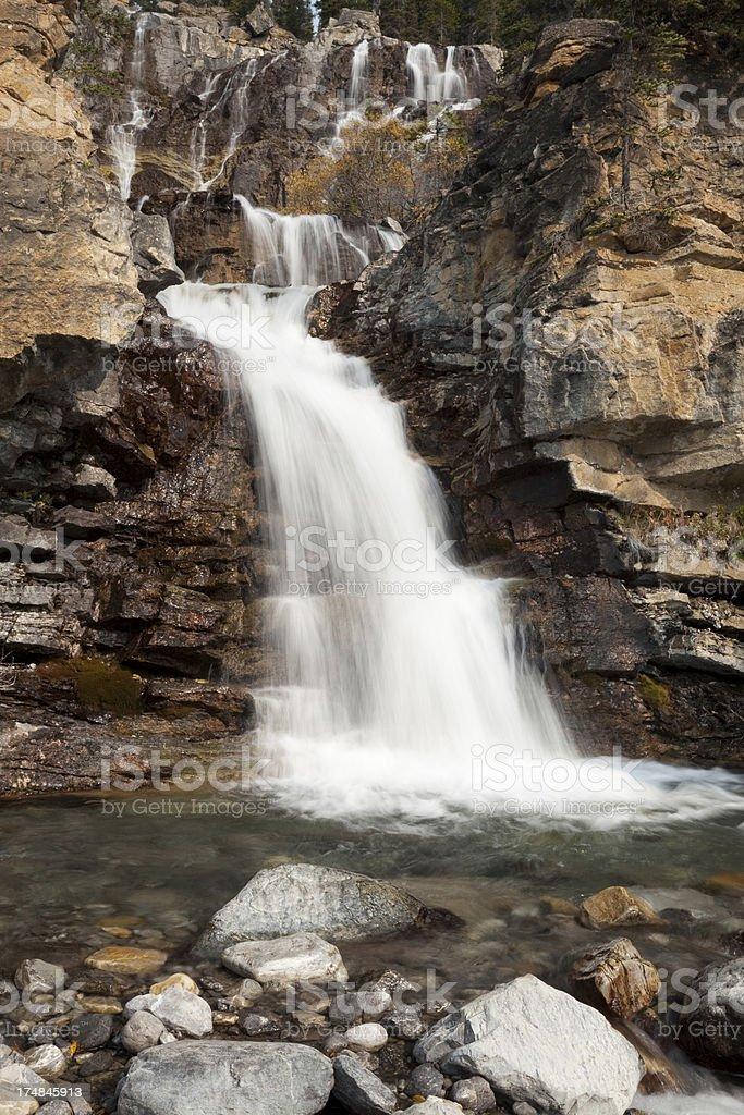 Tangle Falls royalty-free stock photo
