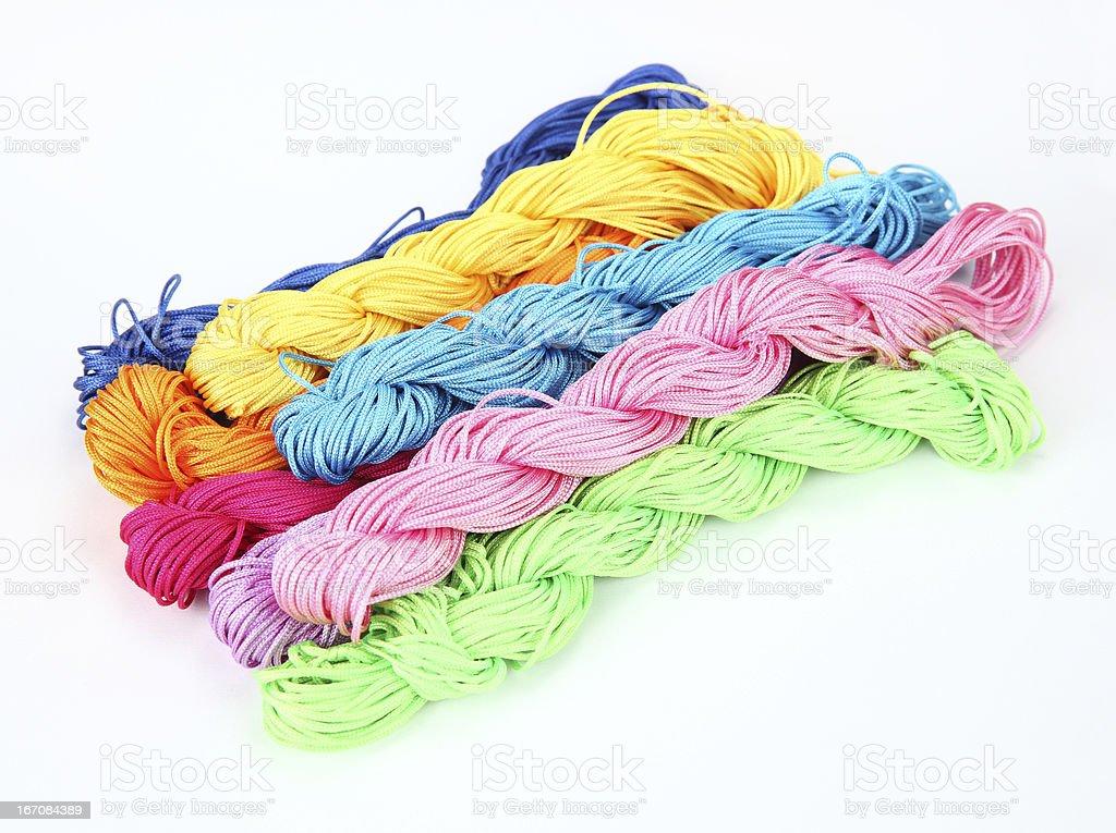 tangled thread royalty-free stock photo
