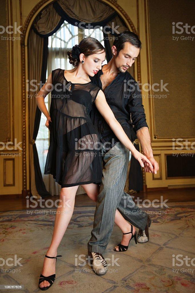 tango dance royalty-free stock photo