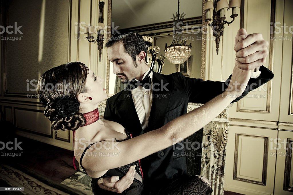 Tango Dancers stock photo