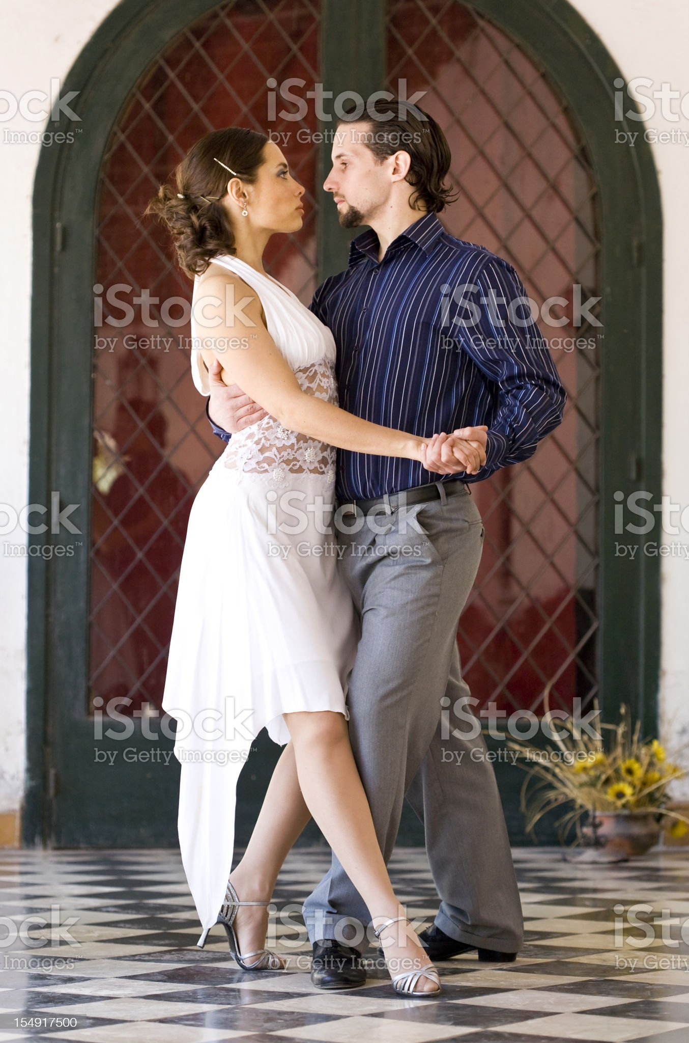 Tango in Argentina royalty-free stock photo
