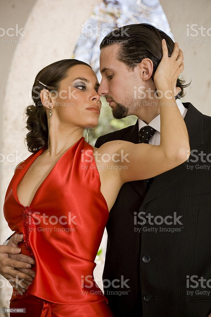 Tango in Buenos Aires royalty-free stock photo