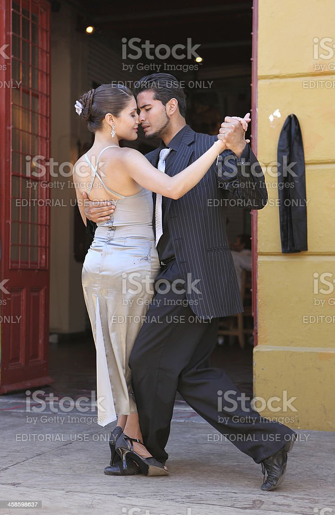 Tango in Buenos Aires stock photo