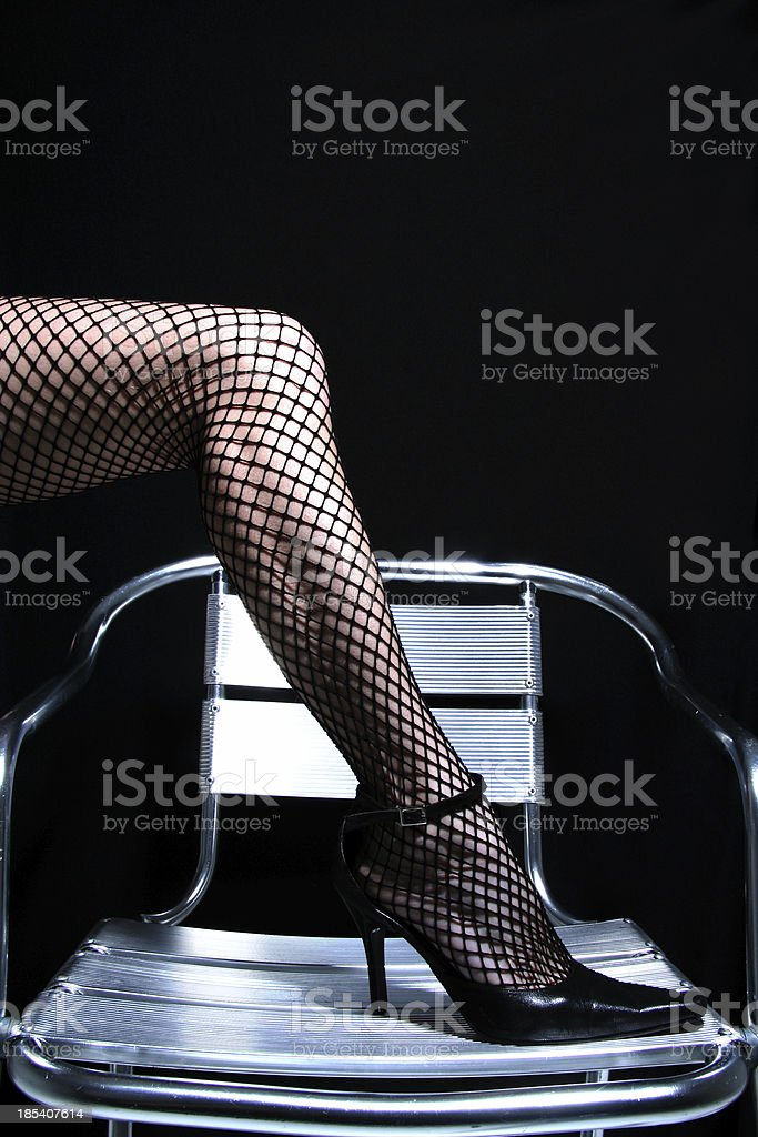 Tango Legs royalty-free stock photo