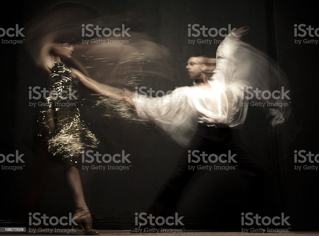 Tango stock photo