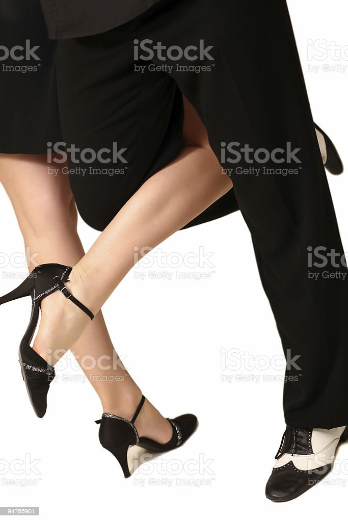 Tango romance royalty-free stock photo