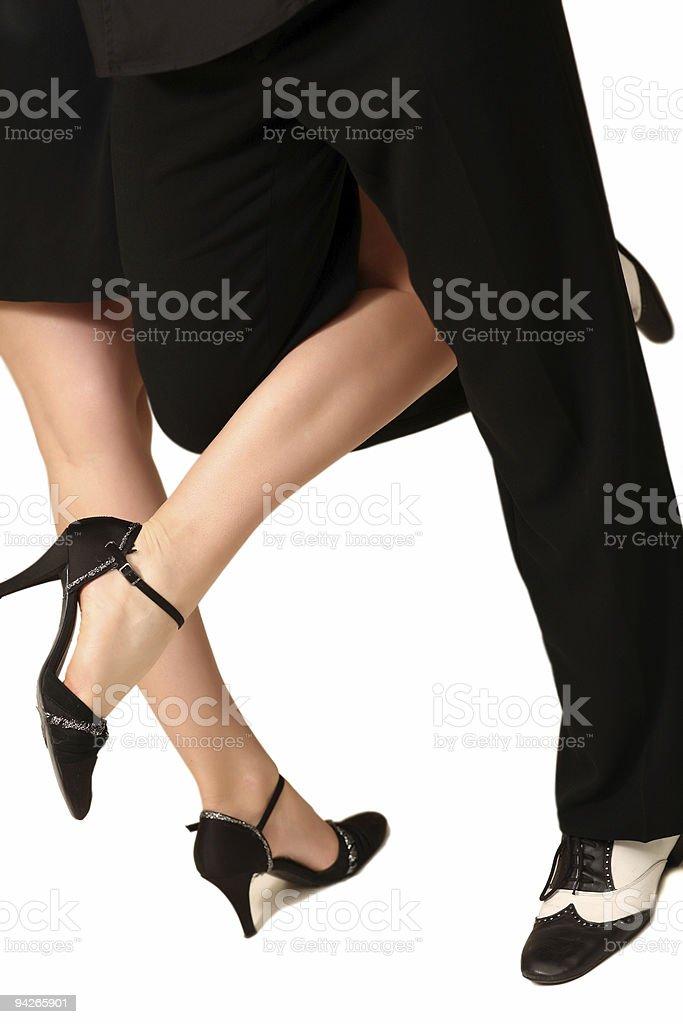 Tango romance stock photo