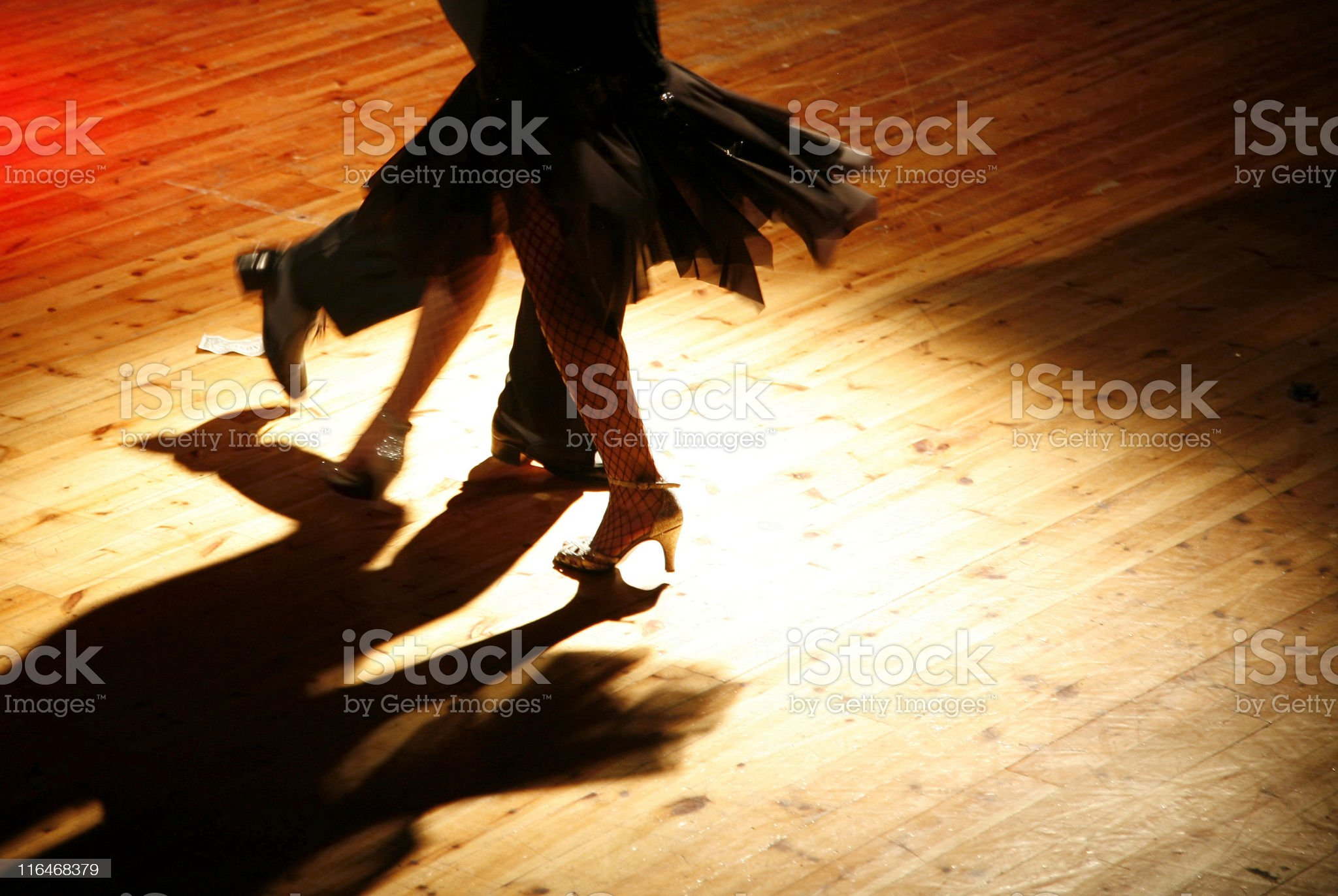 Tangoing couple royalty-free stock photo