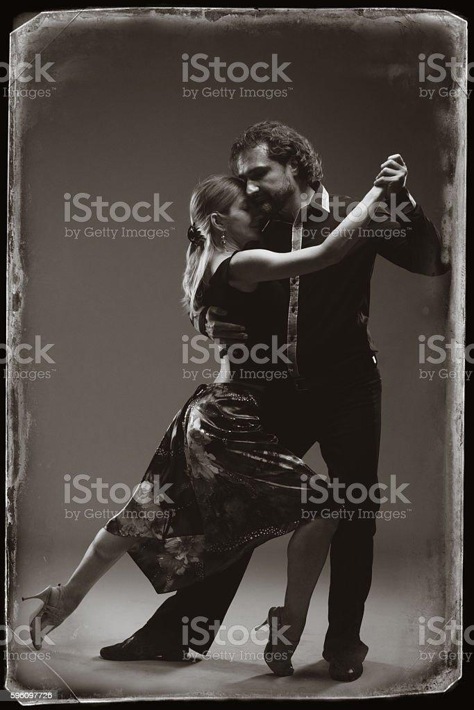 Tango-the seduction dance stock photo