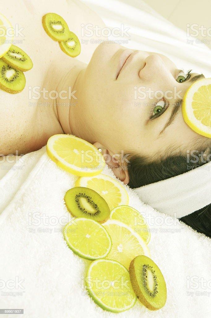 Tangy Treatment stock photo