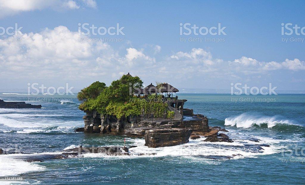 Tanha Lot Temple, Bali stock photo