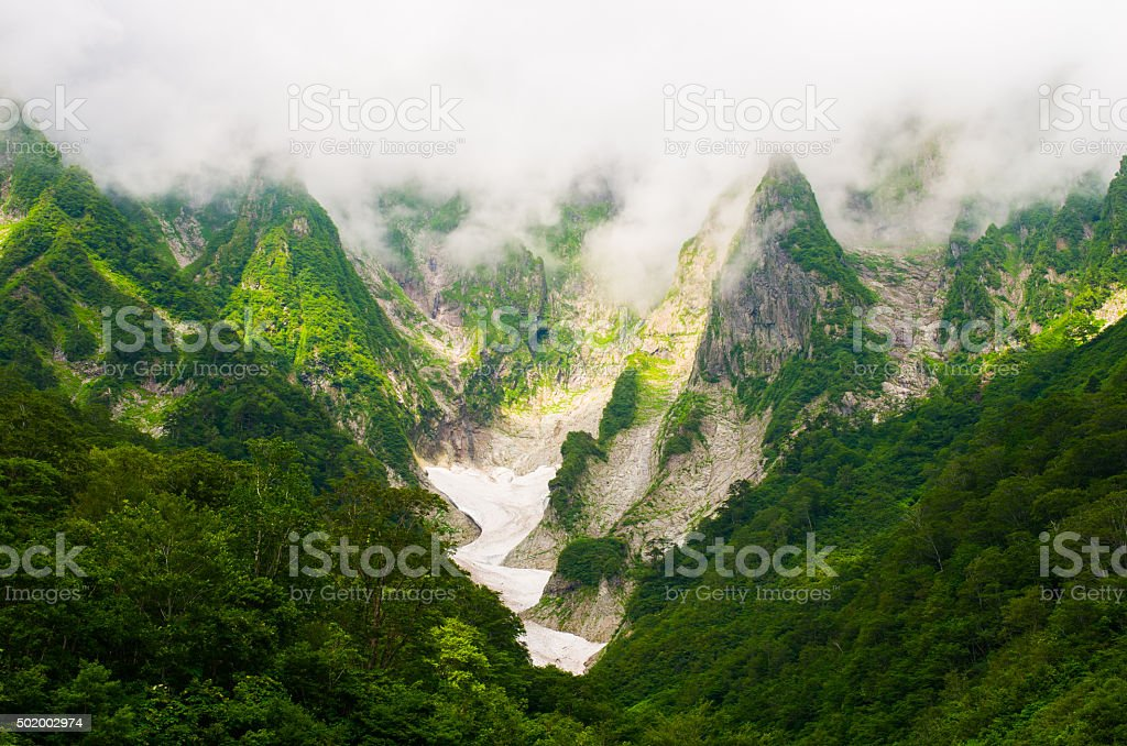Tanigawadake,gunma,tourism of japan stock photo