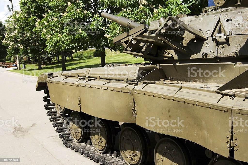 Tank 4 royalty-free stock photo