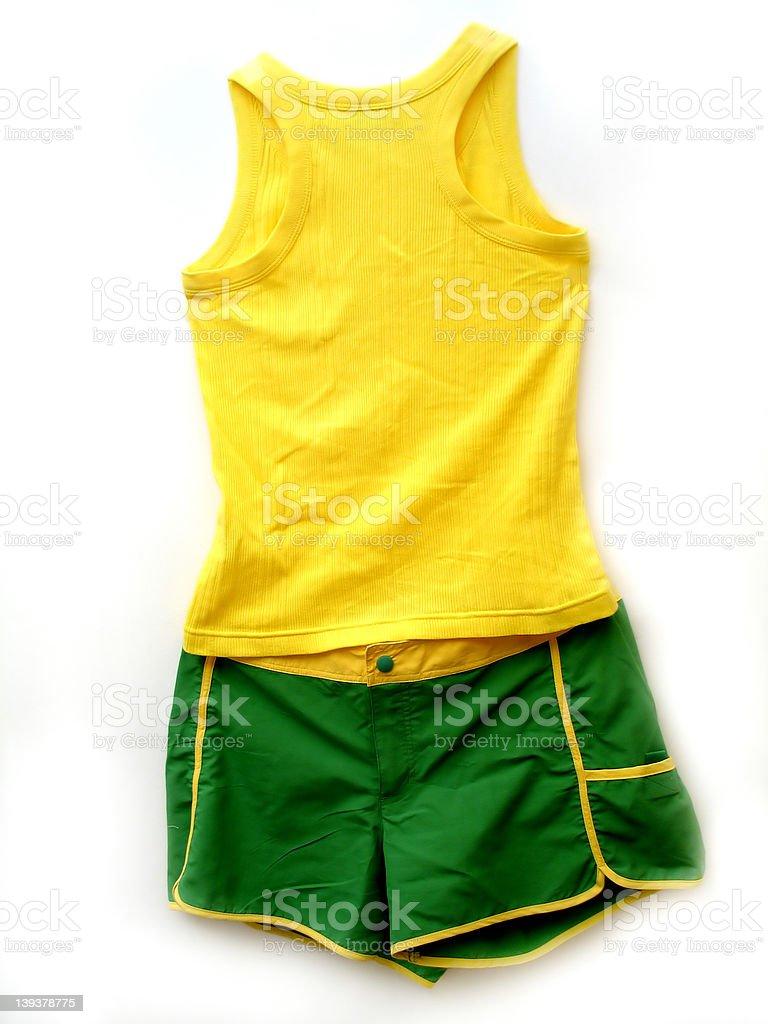 Tank and Shorts royalty-free stock photo