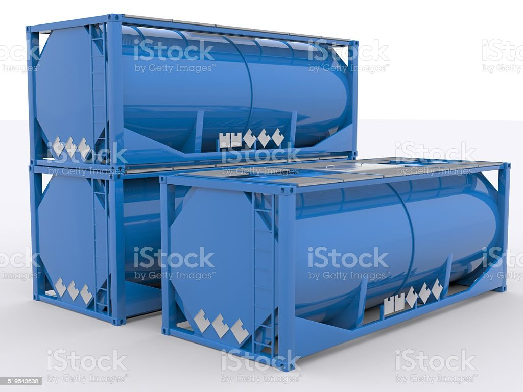 Tank Container stock photo