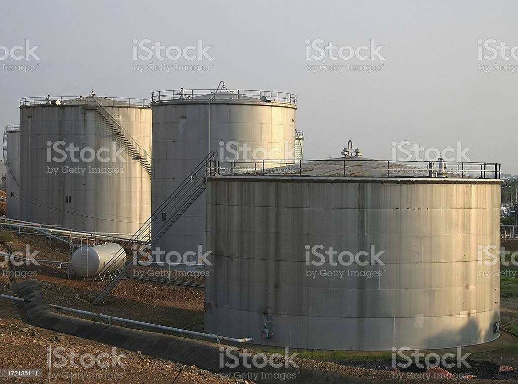 tank farm fuel royalty-free stock photo